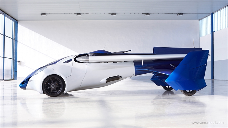 Ô tô bay sẽ chính thức được hợp pháp lăn bánh vào cuối năm nay